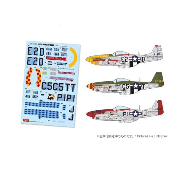 SWOP 1/32 P-51D Marking Set 1