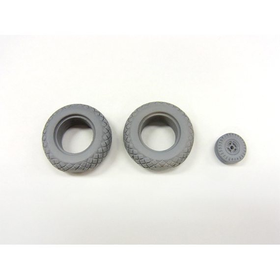 SWOP 1/32 P-51D Weighted Tires