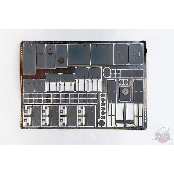 SWOP 1/32 He 219 A-0 Photo-Etched Access Panel Set